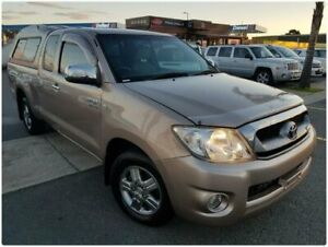 2009 Toyota Hilux GGN15R MY09 SR5 Xtra Cab 4x2 Brown 5 Speed Automatic Utility Cheltenham Kingston Area Preview