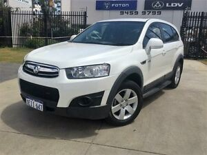 2013 Holden Captiva CG MY12 7 SX (FWD) White 6 Speed Automatic Wagon Beckenham Gosnells Area Preview