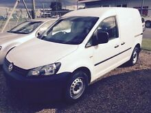 2012 Volkswagen Caddy 2KN MY12 TSI160 SWB White 5 Speed Manual Van Caloundra West Caloundra Area Preview