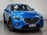 2017 Mazda CX-3 DK4W7A Akari SKYACTIV-Drive AWD Dynamic Blue 6 Speed Sports Automatic Wagon West Hindmarsh Charles Sturt Area Preview