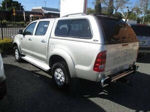 2007 Toyota Hilux GGN25R MY07 SR5 Silver 5 Speed Automatic Utility East Kempsey Kempsey Area Preview
