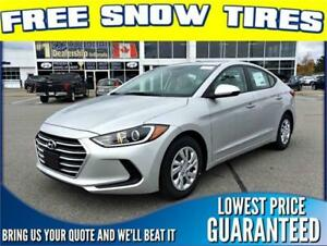 NEW 2017 Hyundai Elantra L *FREE SNOW TIRES*