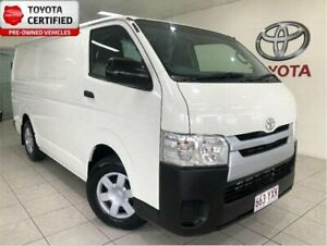 2014 Toyota HiAce KDH201R MY14 LWB French Vanilla 4 Speed Automatic Van Bungalow Cairns City Preview