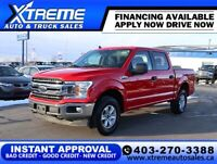 2019 Ford F-150 XLT 4X4 $209 B/W *$0 DOWN* APPLY NOW DRIVE NOW