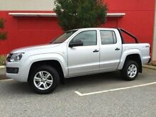 2016 Volkswagen Amarok 2H MY16 TDI420 4MOTION PERM CORE EDITION Silver 8 Speed Automatic Utility Beckenham Gosnells Area Preview