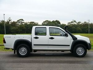 2011 Isuzu D-MAX MY11 SX White 5 Speed Manual 4D UTILITY Brookvale Manly Area Preview