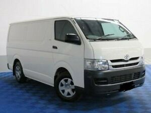 2012 Toyota Hiace TRH221R MY11 High Roof Super LWB White 4 Speed Automatic Van Thorngate Prospect Area Preview