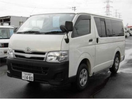 2013 Toyota Hiace KDH206 4WD DX White Automatic Van Concord Canada Bay Area Preview