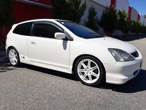 2002 Honda Civic EP3 Type R White 6 Speed Manual Hatchback Cannington Canning Area Preview