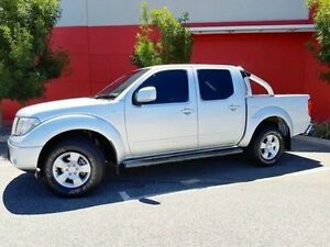 2009 Nissan Navara D40 ST Silver 6 Speed Manual Utility Cannington Canning Area Preview
