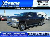 2017 RAM 2500 SLT CREW CAB *INSTANT APPROVAL* $0 DOWN $179/BW