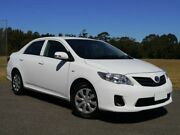 2013 Toyota Corolla ZRE152R Ascent White 4 Speed Automatic Sedan Brookvale Manly Area Preview