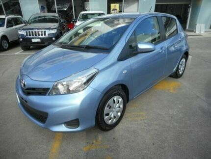 2013 Toyota Yaris NCP130R YR Blue 4 Speed Automatic Hatchback Hallam Casey Area Preview