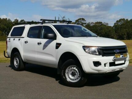 2012 Ford Ranger PX XL White 6 Speed Manual 4D UTILITY