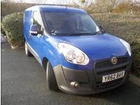 Fiat Doblo Cargo 1.3JTD 16v Multijet SX Panel Van. Warranty. One Owner. FSH.