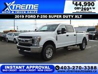 2019 Ford Super Duty F-250 SRW XLT *INSTANT APPROVAL $269/BW! Calgary Alberta Preview