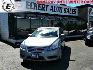 2014 Nissan Sentra S MANUAL