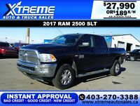2017 RAM 2500 SLT CREW CAB *INSTANT APPROVAL* $0 DOWN $189/BW