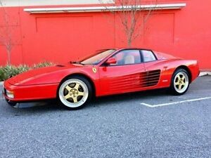 1988 Ferrari Testarossa Red Manual Coupe Cannington Canning Area Preview