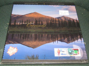 COLLECTION CANADA'S STAMPS BOOK FOR SALE
