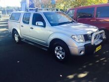 2007 Nissan Navara D40 ST-X Silver 5 Speed Automatic Dual Cab Pick-up Campbelltown Campbelltown Area Preview