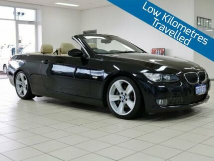 2009 BMW 335i E93 MY09 Black 7 Speed Auto Direct Shift Convertible