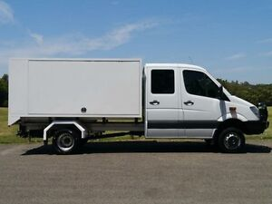 2011 Mercedes-Benz Sprinter NCV3 MY11 516CDI White 5 Speed Automatic 4D CAB CHASSIS Brookvale Manly Area Preview