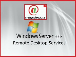 Windows Server 2008 R2 Remote Desktop Services RDS 20 User Cal's License Key!+!@