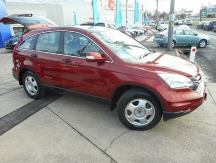 2010 Honda CR-V RE MY2010 4WD Habanero Red Pearl 5 Speed Automatic Wagon Soldiers Hill Ballarat City Preview
