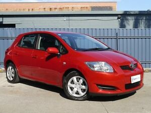 2008 Toyota Corolla ZRE152R Ascent Red 4 Speed Automatic Hatchback Brookvale Manly Area Preview