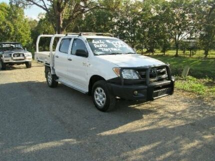 2007 Toyota Hilux GGN25R MY07 SR White 5 Speed Automatic Utility