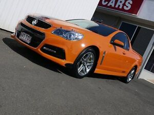 2013 Holden Ute VF MY14 SV6 Ute Orange 6 Speed Manual Utility Svensson Heights Bundaberg City Preview
