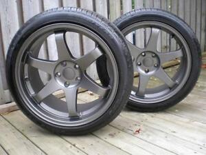 17 POUCE.....................mag et pneus neuf .......??tait 1249