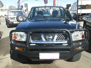 2006 Nissan Navara D22 S2 ST-R Black 5 Speed Manual Cab Chassis Coopers Plains Brisbane South West Preview
