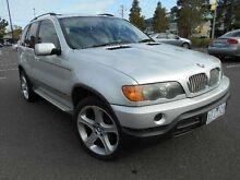 2001 BMW X5 E53 4.4I Silver 5 Speed Auto Steptronic Wagon Maidstone Maribyrnong Area Preview