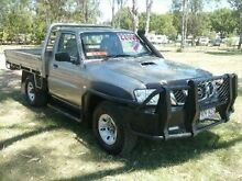 2012 Nissan Patrol Y61 GU 6 SII MY DX Gold 5 SPEED Manual Cab Chassis Nanango South Burnett Area Preview