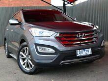 2013 Hyundai Santa Fe DM MY13 Elite Titanium Silver 6 Speed Sports Automatic Wagon Fawkner Moreland Area Preview