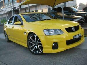 2011 Holden Commodore VE II SS Yellow 6 Speed Manual Sedan Homebush Strathfield Area Preview