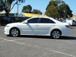 2006 Toyota Camry ACV40R Sportivo White 5 Speed Automatic Sedan Maidstone Maribyrnong Area Preview