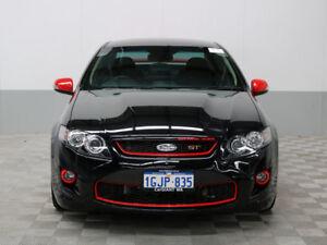 2012 FPV GT Rspec FG MK2 Black 6 Speed Auto Seq Sportshift Sedan