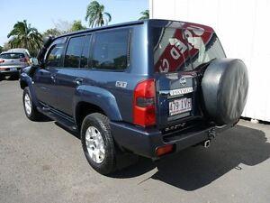 2005 Nissan Patrol GU IV MY05 ST-S Blue 4 Speed Automatic Wagon Svensson Heights Bundaberg City Preview