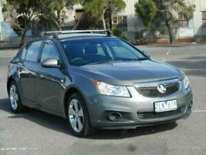 2013 Holden Cruze JH MY13 CD Equipe Grey 6 Speed Automatic Hatchback Braybrook Maribyrnong Area Preview