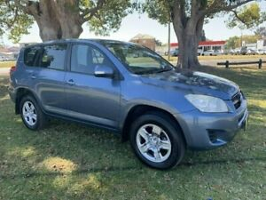 2010 Toyota RAV4 ACA38R MY09 CV 4x2 Blue 5 Speed Manual Wagon