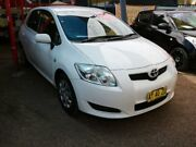 2008 Toyota Corolla ZRE152R Ascent White 4 Speed Automatic Hatchback Minchinbury Blacktown Area Preview