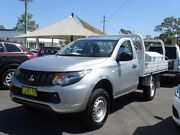 2015 Mitsubishi Triton MN MY15 GLX Silver 5 Speed Manual Cab Chassis South Nowra Nowra-Bomaderry Preview