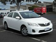 2011 Toyota Corolla ZRE152R MY11 Ascent White 4 Speed Automatic Sedan Maidstone Maribyrnong Area Preview