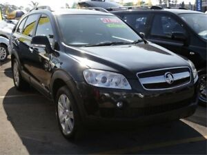 2008 Holden Captiva CG MY08 CX AWD Black 5 Speed Sports Automatic Wagon Minchinbury Blacktown Area Preview