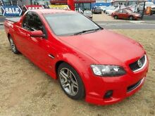 2012 Holden Commodore VE II MY12 SV6 Red 6 Speed Automatic Utility Belconnen Belconnen Area Preview