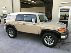 2013 Toyota FJ Cruiser GSJ15R Beige 5 Speed Automatic Wagon Bells Creek Caloundra Area Preview