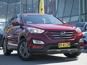2013 Hyundai Santa Fe DM MY14 Active Maroon 6 Speed Sports Automatic Wagon Pearce Woden Valley Preview